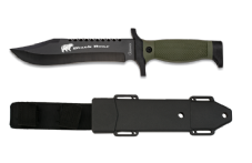 Black Bear Fixed Blade Knife